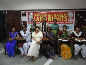 SAFP was a resource agency for NACDOR for a training of dalit NGOS on land rights 2014 in Varanasi