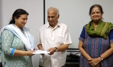 Pranjali certified as a Counsellor