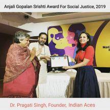 Award for Dr. Pragati